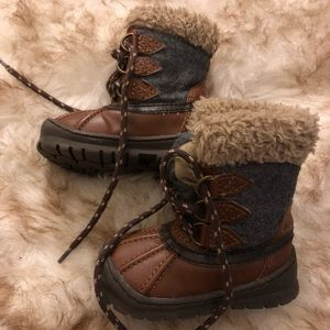 Baby gap toddler duck boots snow shoes